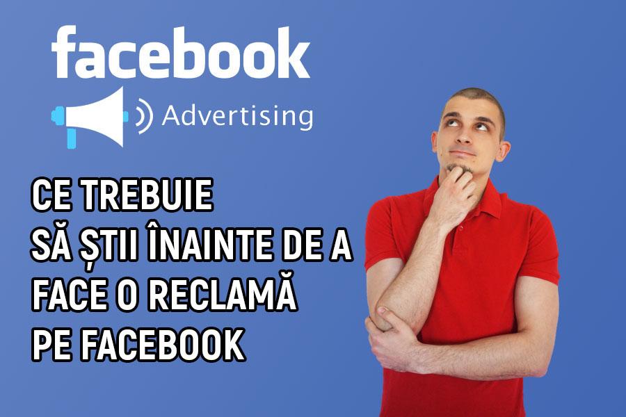 face o reclama pe facebook